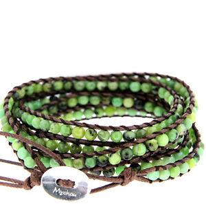 【送料無料】ブレスレット アクセサリ― シルバーcrysoprase bhs70350mychauベトナムブレスレットmychau vietnamese bracelet in silver and crysoprase bhs70350