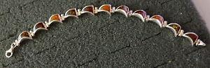 【送料無料】ブレスレット アクセサリ― スターリングbaltic multicolor amber bracelet women rare242グラムsterling silver baltic multicolor amber bracelet women rare 242 gra