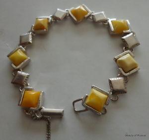 【送料無料】ブレスレット アクセサリ― オレンジスターリングシルバーブレスレット#baltic butterscotch amber sterling silver bracelet women rare 3 bts
