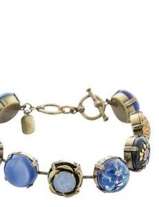 【送料無料】ブレスレット アクセサリ― ビクトリアボタンブレスレットvictorian trading co blue skies tomorrow button bracelet