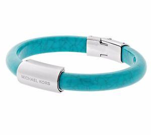 【送料無料】ブレスレット アクセサリ― ミハエルブレスレットブレスレットターコイズmichael kors mkj5599040 bracelet bracelet couleur turquoisesilberneu