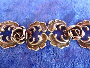 【送料無料】ブレスレット アクセサリ― ブレスレットバラpretty, old bracelet__ 925 silver___roses__