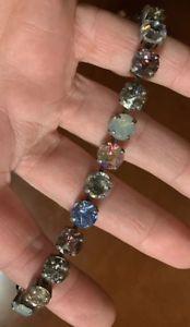 【送料無料】ブレスレット アクセサリ― マンハッタンスワロフスキークリスタルブレスレットsabika manhattan swarovski crystal bracelet retired and impossible to find