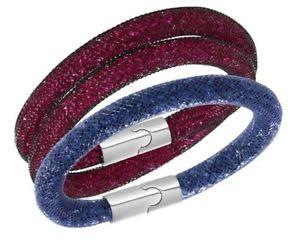 【送料無料】ブレスレット アクセサリ― スワロフスキースターダストブレスレットセットチョーカーサイズswarovski stardust bracelet set can be used as choker size s 5102844