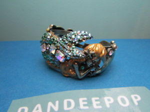 【送料無料】ブレスレット アクセサリ― ローレライマーメイドドルフィンカフブレスレットkirks folly lorelei mermaid sea goddess with dolphin amp; seahorse cuff bracelet