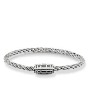 【送料無料】ブレスレット アクセサリ― トーマスブレスレットステンレススチールシルバーthomas sabo bracelet stainless steel silver ub00208245l19