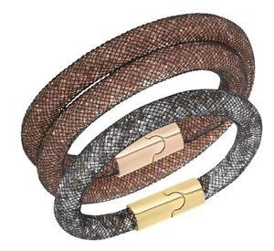 アクセサリ― set stardust can as s 【送料無料】ブレスレット choker be size bracelet 5102845 スワロフスキースターダストブレスレットセットチョーカーサイズswarovski used