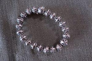 【送料無料】ブレスレット アクセサリ― スターリングシルバーボールビーズブレスレットグラム listingsilpada 925 sterling silver hemisphere filigree ball bead bracelet 29grams 7