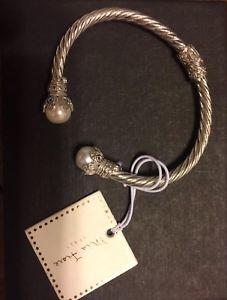 【送料無料】ブレスレット アクセサリ― フィオーレブレスレットスターリングシルバーパールmia fiore bracelet sterling silver and pearl