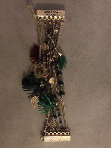 【送料無料】ブレスレット アクセサリ― ブレスレット rosantica stone and tassle bracelet