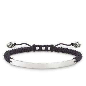 【送料無料】ブレスレット アクセサリ― トーマススターリングシルバーブリッジスカルブレスレット¥lba0069 genuine thomas sabo sterling silver love bridge skull bracelet 119