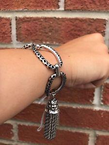 【送料無料】ブレスレット アクセサリ― スコットブレスレットアンティークシルバーnwt kendra scott mia bracelet antique silver