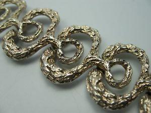 【送料無料】ブレスレット アクセサリ― ビンテージデザイナーブレスレットシルバーvery beautiful massive vintage designer bracelet made from 835 silver