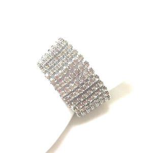 【送料無料】ブレスレット アクセサリ― ビンテージジュディラインストーンカフブレスレットvintage stunning rare signed judy lee statement rhinestone cuff bracelet