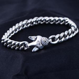 a2357 7 om women hum 【送料無料】ブレスレット アクセサリ― padme mani width 88mm スターリングシルバーハムブレスレット925 silver sterling bracelet