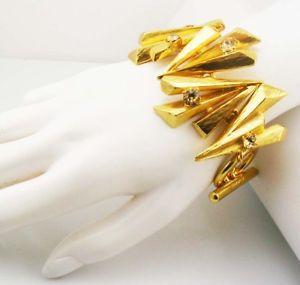 【送料無料】ブレスレット アクセサリ― スパーククリスタルトグルブレスレットoscar de la renta spark crystal toggle bracelet  7 14