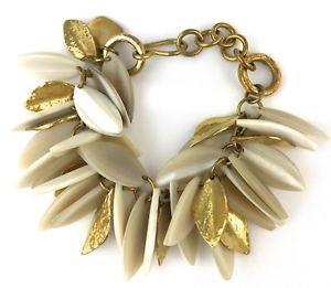 hammered pittman bronze bracelet chain 【送料無料】ブレスレット tanzu leaf アクセサリ― horn アシュリーライトホーンチェーンリーフブレスレットブロンズashley light