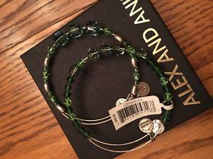 【送料無料】ブレスレット アクセサリ― アレックスアニスワロフスキーセットalex and ani stunning green swarovski set