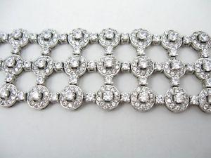 【送料無料】ブレスレット アクセサリ― ラインストーンブレスレットシルバーsterling 925 plated cz rhinestone bracelet silver ngs275