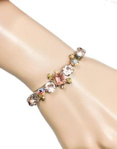 【送料無料】ブレスレット アクセサリ― sorrelliブレスレットローズsand dune collection rose peach crystals evening bridal bracelet by sorrelli