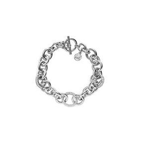 【送料無料】ブレスレット アクセサリ― マルケルコースmkj3462リンクトグルブレスレットシルバーmichael kors mkj3462 pave crystal link toggle bracelet silver dust bag