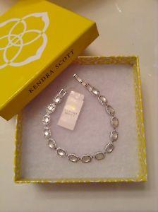 【送料無料】ブレスレット アクセサリ― silver ̄pearls ̄crystals ̄250 ̄top ratenwtケンドラスコットcoleブレスレットnwt kendra scott cole wedding bracelet in silver~pearls~crystals~2