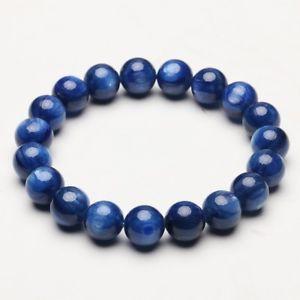 【送料無料】ブレスレット アクセサリ― 102mmカイアナイトキャットアイブレスレットbkbb013102mm natural blue kyanite crystal gem cat eye beads stretch bracelet bkbb013