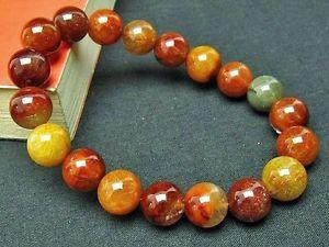 【送料無料】ブレスレット アクセサリ― 12mm5aルチルブレスレットgift bl534812mm rare 5a natural golden rutilated quartz round beads bracelet gift bl5348