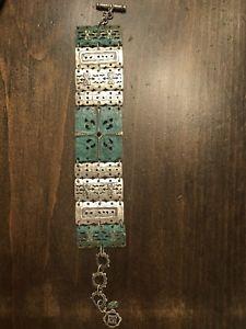 【送料無料】ブレスレット アクセサリ― silpada スターリングブレスレットb2832189ドルgorgeoussilpada sterling silver patina brass artifact bracelet b2832 189 gorgeous