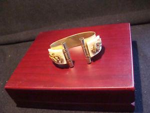 【送料無料】ブレスレット アクセサリ― ジーンアールデコビンテージブレスレットタツノオトシゴvintage bracelet seahorses by jean painlev jhp art deco