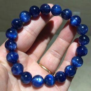 【送料無料】ブレスレット アクセサリ― カイアナイトブレスレット10mm aaaanatural blue kyanite gemstone round beads bracelet 10mm aaaa