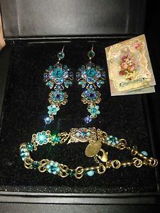 【送料無料】ブレスレット アクセサリ― ミカルnegrinイアリングmichal negrin earrings and bracelet