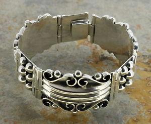 【送料無料】ブレスレット アクセサリ― メンズレディーススターリングシルバーファッションブレスレットmens or ladies sterling silver fashion bracelet