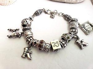 【送料無料】ブレスレット アクセサリ― ブライトンビーズシルバーブレスレットbrighton 18 charm beads silver bracelet