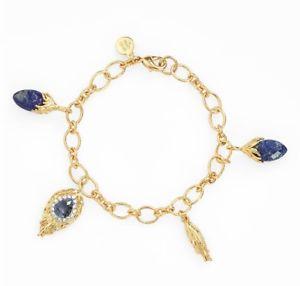 【送料無料】ブレスレット アクセサリ― モルディブフェザーチャームゴールドブレスレットalexis bittar womens elements maldivian feather charm gold bracelet 143967