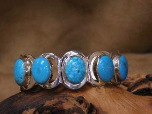 【送料無料】ブレスレット アクセサリ― スターリングシルバーターコイズモダンカフブレスレットsterling silver and turquoise modern cuff bracelet