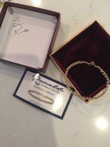 【送料無料】ブレスレット アクセサリ― ブレスレットサインボックスドル listingronaldo jewelry 7 heavenly virtue bracelet with autographed box rv 202
