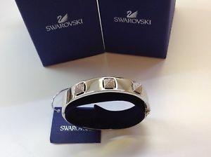 【送料無料】ブレスレット アクセサリ― スワロフスキークリスタルブレスレットnwt swarovski crystal studded bracelet 7