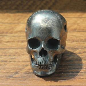 【送料無料】ブレスレット アクセサリ― スカルブレスレットペンダントスターリングシルバーハンドメイドパンクビードセントforobb skull bracelet pendant sterling silver handmade punk bead 60003scstb