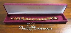 【送料無料】ブレスレット アクセサリ― ジャクリーンケネディカステラーニブレスレットボックス listingcamrose amp; kross jbk jacqueline kennedy castellani wedding bracelet box amp; coa