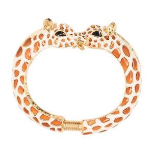 【送料無料】ブレスレット アクセサリ― ケネスジェイレーンクラシックエナメルキリンブレスレットkenneth jay lane kjl classic 22kt gold plated amp; enamel giraffe bracelet
