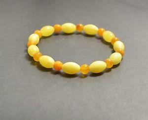 【送料無料】ブレスレット アクセサリ― バルトブレスレットluxury natural genuine baltic amber round adult bracelet 6,3 gr ap832