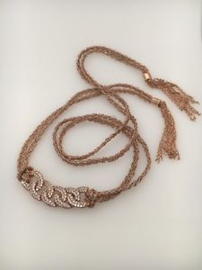 【送料無料】ブレスレット アクセサリ― ピンクローズゴールドスターリングシルバーラップブレスレットドルin spirit design pink amp; rose gold plated sterling silver wrap bracelet rrp 250