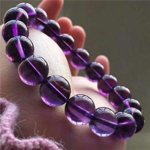 【送料無料】ブレスレット アクセサリ― ウルグアイアメジストビーズブレスレットnatural uruguay amethyst quartz crystal beads bracelet aaaa 118mm