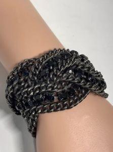 【送料無料】ブレスレット アクセサリ― チェーンラップブレスレットelizabeth cole katy chain wrap bracelet