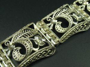 【送料無料】ブレスレット アクセサリ― シルバーブレスレットhand made very beautiful high quality 800 silver bracelet