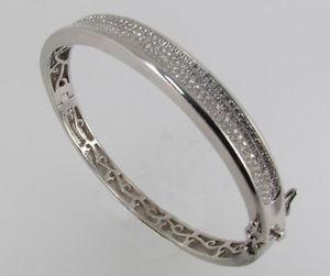 【送料無料】ブレスレット アクセサリ― ヌフアージェントマッシフアンサンブルブレスレットneuf argent massif micropave ensemble zircone bracelet