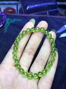 【送料無料】ブレスレット アクセサリ― ペリドットラウンドビーズブレスレットnatural green peridot gemstone round beads bracelet aaaa 8mm