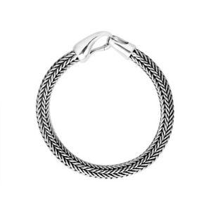 【送料無料】ブレスレット アクセサリ― スターリングシルバーブレスレットプレーンシルバーsterling silver bracelet with plain silver ab8024ss8