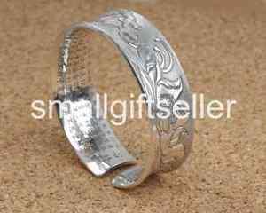 【送料無料】ブレスレット アクセサリ― スターリングシルバーレトロブレスレットpure s999 sterling silver flower width retro womens bracelet